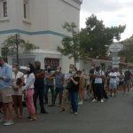 Bodrum'da Çileli Aşı Kuyruğu!